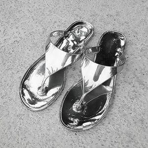 BG Gold STAR Jelly sandals